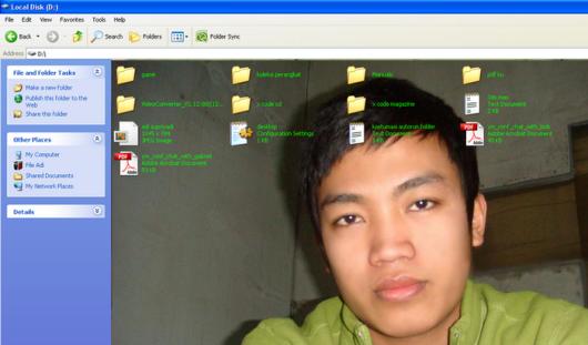 folder D:// adi hacker