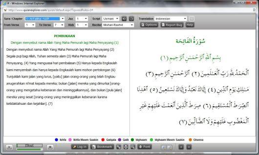 Citaten Quran Explorer : Al quran adivektor wordpress